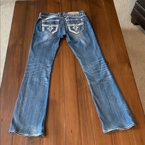 Rock revival jeans size 28 Jacklyn boot cut